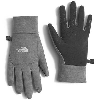 NEW! The North Face ETIP Women's Running Gloves Color High Rise Grey Size Medium