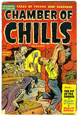 Chamber of Chills 7 1952 Harvey Horror GVG Used in SOTI