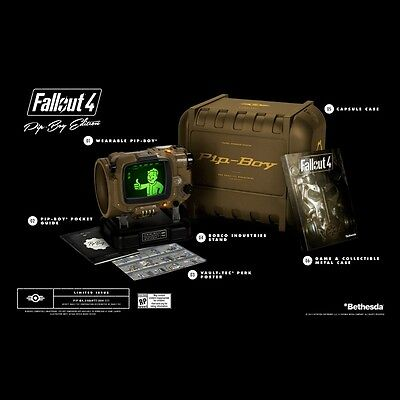 Fallout 4 Pip Boy Limited Collector's Edition for PC Brand NEW InHand Ready Ship
