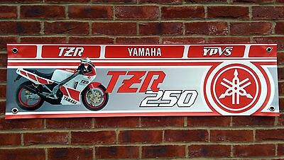Br57 Yamaha Tzr250 2Ma 1Kt Banner Tzr Ypvs Workshop Sign