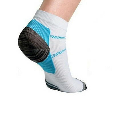 1Pair Plantar Fasciitis Heel Arch Pain Relief Support Compression Ankle Sock Hot