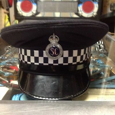 Obsolet Police cap, Lincolnshire