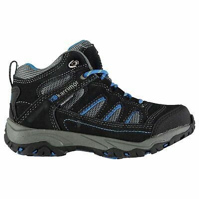 Karrimor Kids Mount Mid Childrens Walking Boots Boys Trekking Hiking Lace Up
