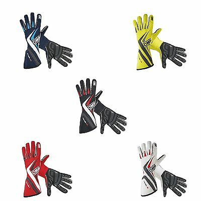 OMP Motorsport One S Pre-Curved FIA / SFI Approved Race Gloves