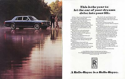 This is the year car of your dreams Rolls-Royce ad 1983