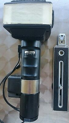 Metz 45 Ct-1 Handle Mount Battery Flash System For Nikon Canon Etc