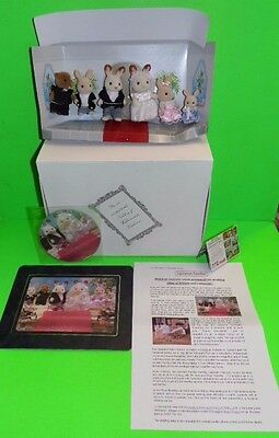 Sylvanian Families Promo Exclusive  Press Release Boxed Sample The Royal Wedding