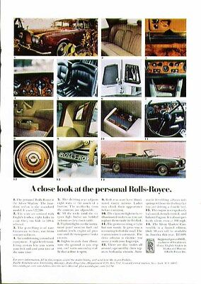 A close look at the personal Rolls-Royce Silver Shadow ad 1970