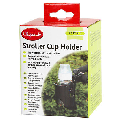 Clippasafe Stroller Cup Holder Pram Accessory
