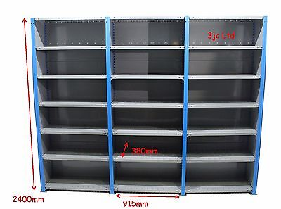 Tidy Genuine Dexion Impex Heavy Duty Industrial Boltless Steel Shelving Racking