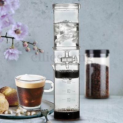 400ml Cold Drip Coffee Maker Water Ice Dutch Brew Home Machine Serve For 5 Cups
