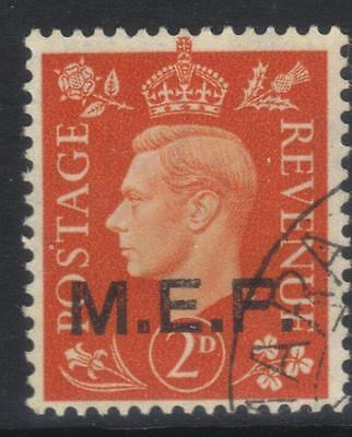 Middle East Forces 1942 Optd Sgm2 Used Cat £6