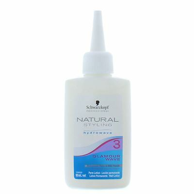 Schwarzkopf Natural Styling Hydrowave 3 Glamour Wave Perm Lotion 80ml