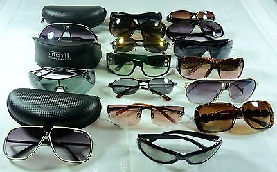 Wholesale Lot of (16) Women's Sunglasses - Preowned