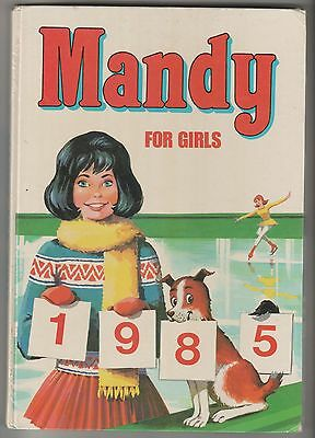 Mandy For Girls Annual 1985 From D C Thomson.