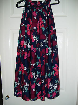 GIRLS FLORAL PARTY DRESS FROM MARKS AND SPENCER TO FIT AGE 11-12 YEARS (158cms)