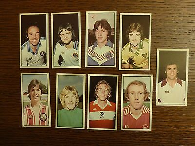 9 Geo Bassett Football 1987-79 Cards Excellent Condition