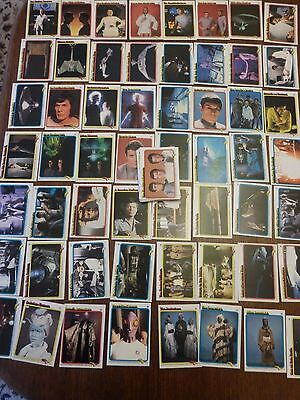 Topps Star Trek The Movie 77 Cards From 1980 Excellent Condition