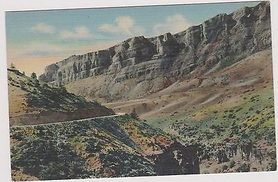 Shell Canyon Wyoming Post Card. Unused