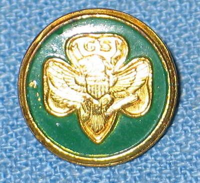 Vintage 1960's OFFICIAL Girl Scout FRIENDSHIP PIN