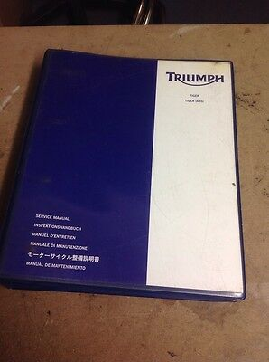 Triumph Tiger 1050 Genuine Triumph Service Manual