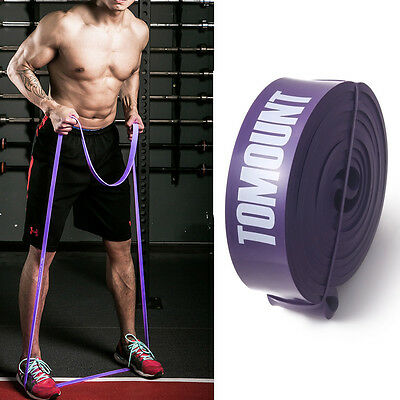 Résistance bandes Workout Pilates exercice Yoga Crossfit Fitness Tubes Violet
