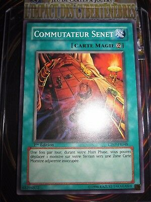 Senet Switch Commutateur Senet Yu Gi Oh CDIP-FR048