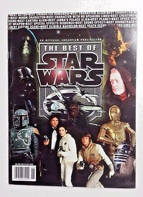 1998 Best of Star Wars Official Lucasfilm Magazine- UNREAD- 64 Pages