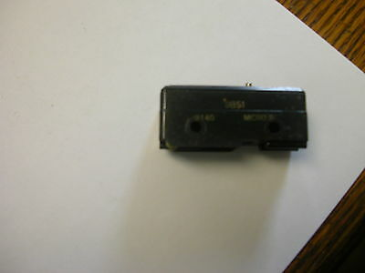 Honeywell Micro Switch 9Bs1 Pin Plunger Snap Action Limit Switch
