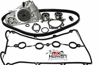 Mazda MX5 MK1 1.6 Timing Belt Kit (4 pc), Water Pump, Cam Cover Gasket & O'Ring