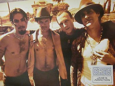 Jane's Addiction, Tool, Double Full Page Vintage Pinup