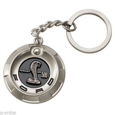 Oem 07 08 09 10 11 12 13 14 Ford Mustang Svt Shelby Gt500 Alloy Gas Cap Keychain