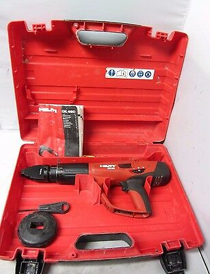 Hilti Dx 460-F8 Fully Automatic Power Actuated Tool With Case