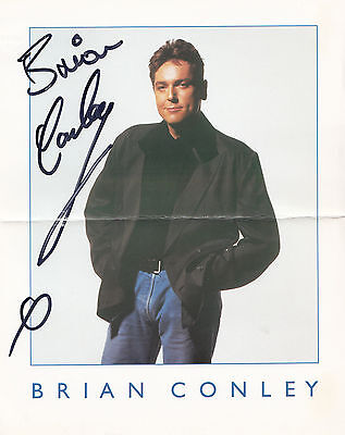 "Brian Conley Giant 10"" x 8"" Genuine Hand Signed Photo"