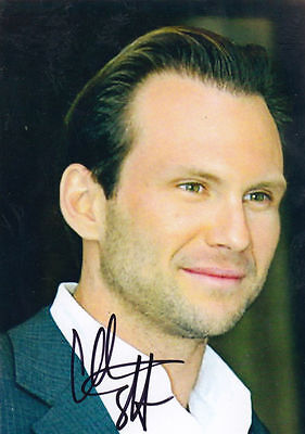 Christian Slater 6x4 Hand Signed Photo