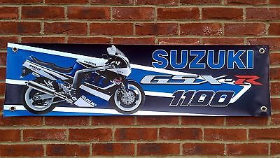 Br63 Suzuki Gsxr1100M 1991 Banner Workshop Sign Gsxr1100