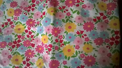 Pretty New Pottery Barn Kids Madeline floral Crib SHEET toddler bed girl