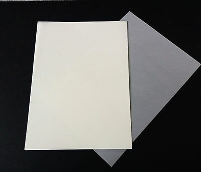 10 x A4 Sheets of Ivory Transluscent Vellum - 170 gsm