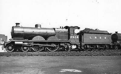 Photo LNER Class C4 No 2924 (5362) seen at Annesley shed yard on 9/6/48