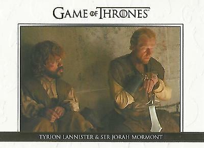 "Game of Thrones Season 5: DL27 GOLD Parallel ""Relationships"" Chase Card #127/225"