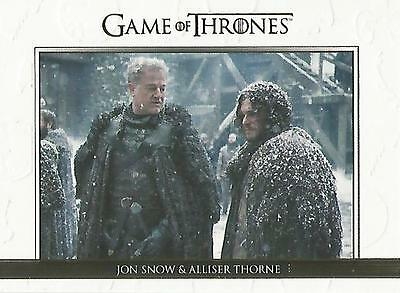 "Game of Thrones Season 5: DL28 GOLD Parallel ""Relationships"" Chase Card #143/225"