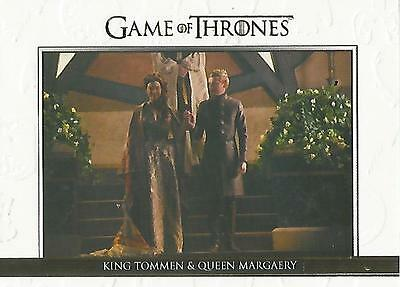 "Game of Thrones Season 5: DL25 GOLD Parallel ""Relationships"" Chase Card #096/225"