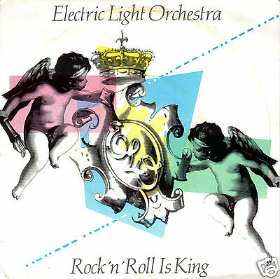 Electric Light Orchestra - Rock'n'Roll Is King - Vinyl Single 1983 - VERY GOOD+