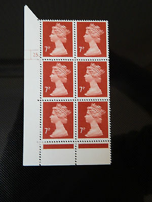 X937  7p HARRISON PRINT PCP  IN CYL BLK OF 6  25 DOT UNM