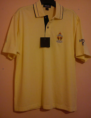 The Open Golf Championship 2001 Polo Shirt Lytham St Annes Ashworth Size S Bnwt