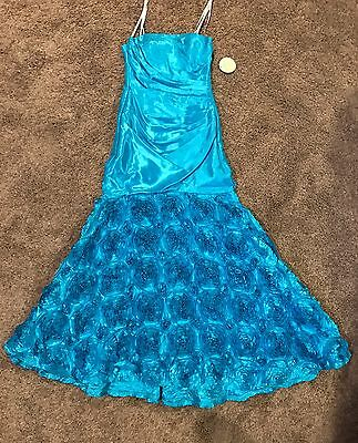 Size 3/4 Prom Party Homecoming Dance Pageant Formal Evening Gown Dress NWT