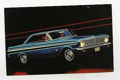 1965 Ford Falcon Futura 2 Door Hardtop ORIGINAL Factory Postcard ft1746