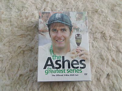 The Ashes ~ The Greatest Series ~ 3 Disc DVD Set ~ BRAND NEW