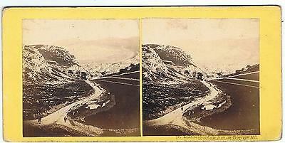Stereoview - No 30 Llandudno View From Telegraph Hill, North Wales By F Bedford