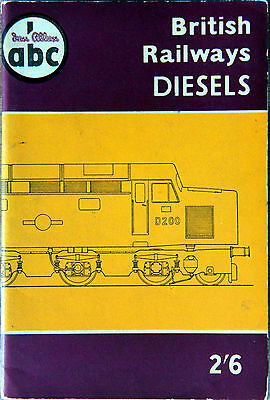 Ian Allan Abc - British Railways Diesels - October 1958